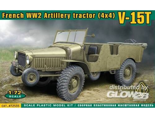 ACE V-15T French WWII 4x4 artillery tractor 1:72 (72535)