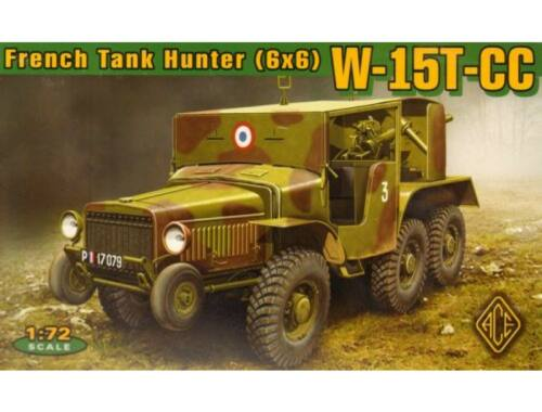ACE W-15T-CC French tank hunter 6x6 1:72 (72537)