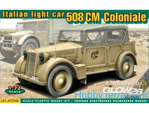 ACE 508 CM Coloniale Italien light car 1:72 (ACE72548)