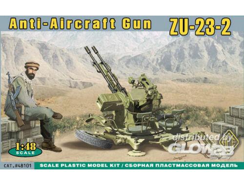 ACE ZU-23-2 AA Ant-aircraft gun 1:48 (ACE48101)