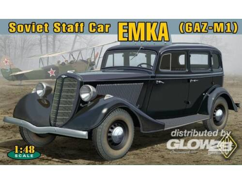 """ACE WWII Soviet car GAZ-M1 """"Emka"""" 1:48 (48104)"""