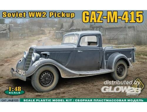 ACE WWII Soviet pick-up GAZ-M-415 1:48 (48105)