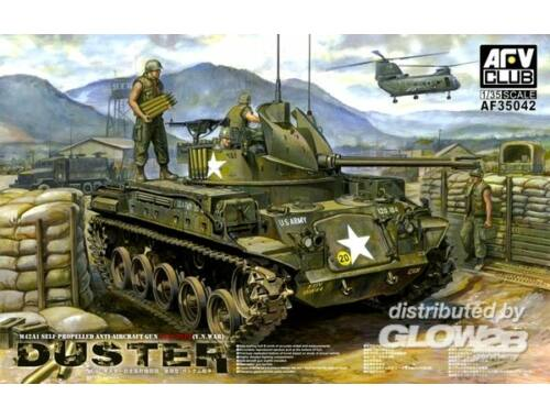 AFV Club M42A1 Self Propelled Anti-Aircraft Gun 1:35 (AF35042)