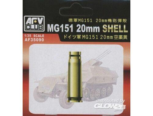AFV Club MG151 20 mm SHELL CASE (METAL) 1:35 (AF35090)