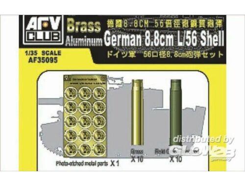AFV Club 8,8 mm L/56 SHELL CASE 1:35 (AF35095)