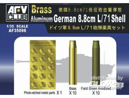 AFV Club German 8,8 cm L/71 SHELL 1:35 (AF35098)
