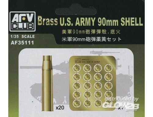 AFV Club US 90 mm SHELL CASE (METAL) 1:35 (AF35111)