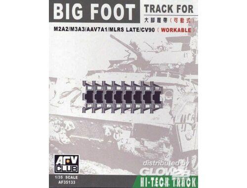 AFV Club BIG FOOT TRACKS (BRADLEY/AAV7/MLRS) 1:35 (AF35133)