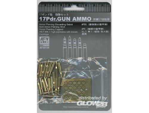 AFV Club 17Pdr. Gun Ammo 1:35 (AF35138)