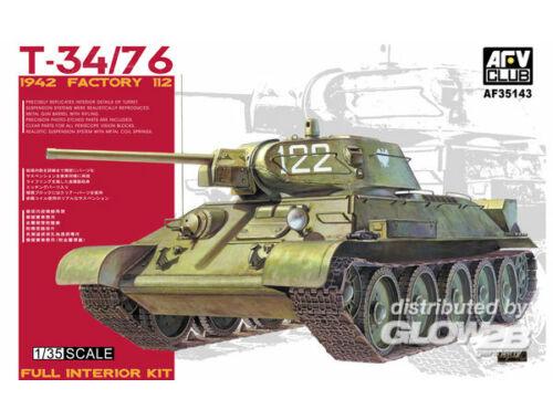 AFV Club T34/76 1942, Factory 112 1:35 (AF35143)