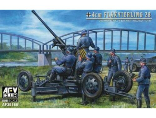 AFV Club 40mm Flak 28 Bofors ww II German 1:35 (AF35186)