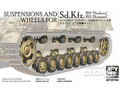 AFV Club Wheels   suspensions for Panzer IV 1:35 (AF35194)