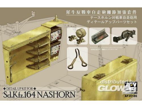 AFV Club Accessoires for Sd.Kfz. Nashorn 1:35 (AF35196)