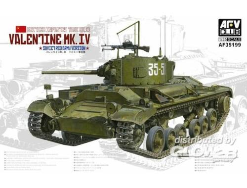 AFV Club Valentine Mk. IV 1:35 (AF35199)