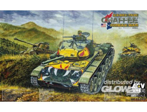 AFV Club M24 Chafee tank Korea war vision 1:35 (AF35209)