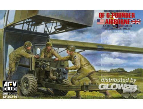 AFV Club British Mk.4 6pdr airborne anti-tank Gun 1:35 (AF35219)