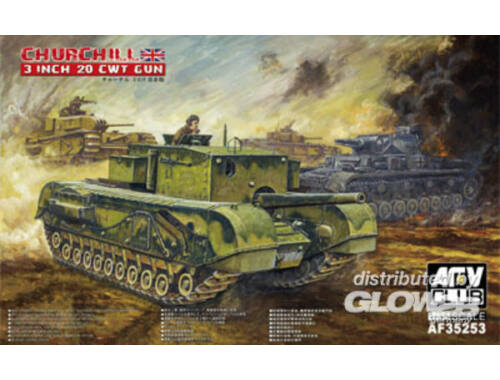 AFV Club British 3 inch gun Churchill tank 1:35 (AF35253)