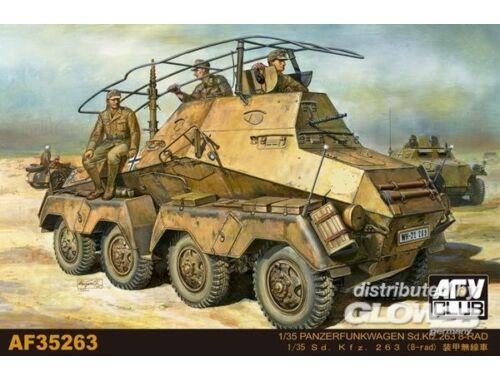 AFV Club Panzerfunkwagen Sd.Kfz. 263 8-Rad 1:35 (AF35263)