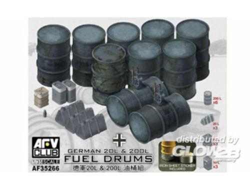 AFV Club German 20L   200L Fuel Drums 1:35 (AF35266)