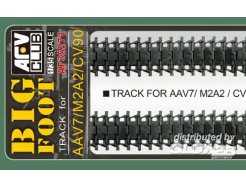 AFV Club M2A2/M3A3/AAV7A1/MLRS lateCV90 BigFoot T 1:35 (AF35271)