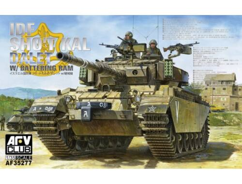 AFV Club IDF Sho't Kal Dalet w/Battery Ram 1:35 (AF35277)