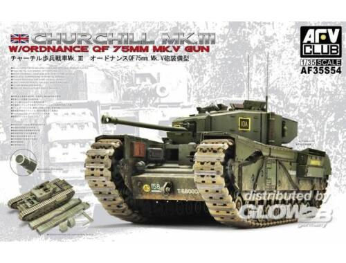 AFV Club Churchill Mk.3/75mm (limited edition kit 1:35 (AF35S54)