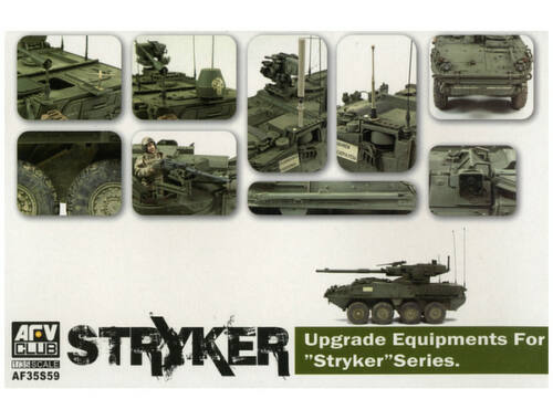 AFV Club Upgrade equipments for STRYKER serie 1:35 (AF35S59)