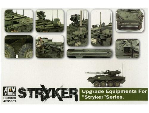 AFV Club Upgrade equipments for STRYKER serie 1:35 (AF35S59)