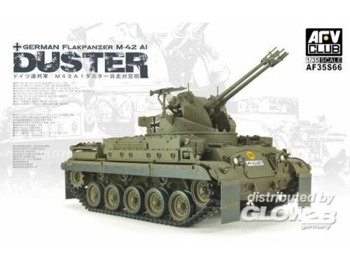 """AFV Club German Flakpanzer M-42 A1 """"Duster"""" 1:35 (AF35S66)"""