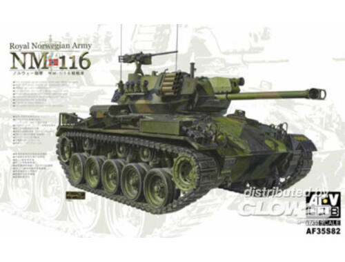 AFV Club NM 116 Royal Norwegian Army 1:35 (AF35S82)