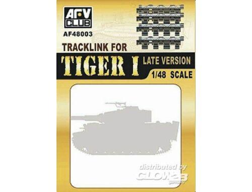 AFV Club Workable Tracklink for Tiger I late 1:48 (AF48003)