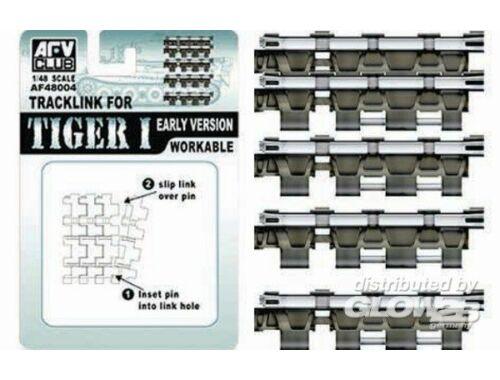 AFV Club Workable Tracklink for Tiger I early 1:48 (AF48004)