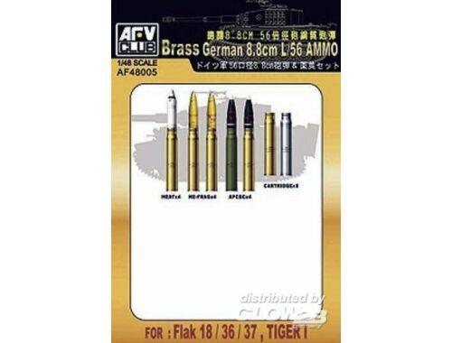 AFV Club 8,8 cm L/56 Ammunition 1:48 (AF48005)