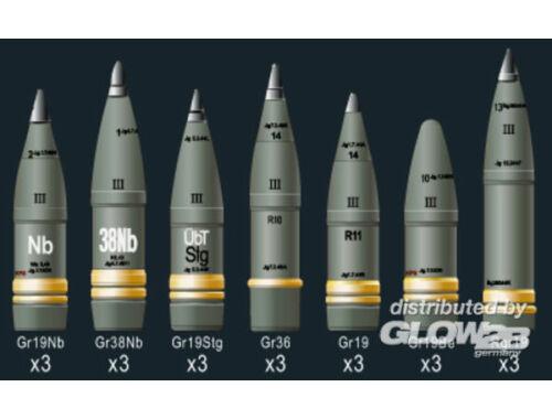 AFV Club SFH18 Howitzer Ammunition 1:35 (AG35043)