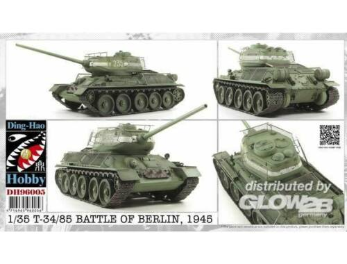 AFV Club T34/85 Battle of Berlin 1945 1:35 (DH96005)
