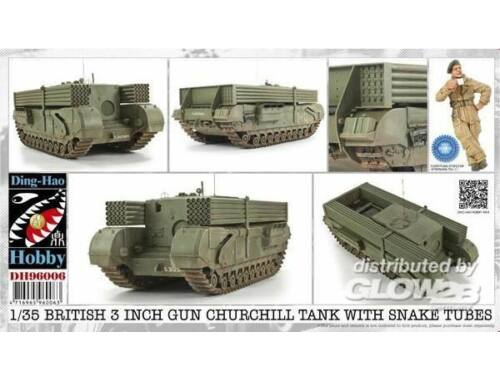 AFV Club British 3 Inch gun Churchill tank 1:35 (DH96006)