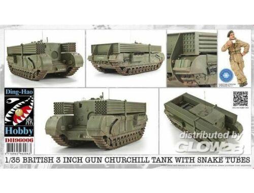 AFV Club British 3 Inch gun Churchill tank 1:35 (DH96006)