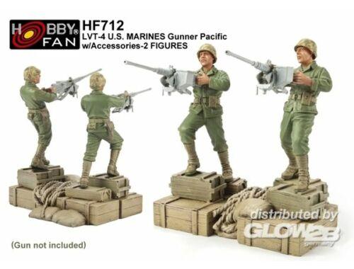AFV Club LVT-4 US Marines Gunner Pacif. 2 Figuren 1:35 (HF712)