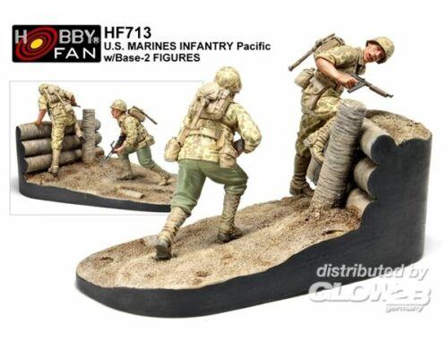 AFV Club US Marines Infantry Pacific 2 Figuren 1:35 (HF713)