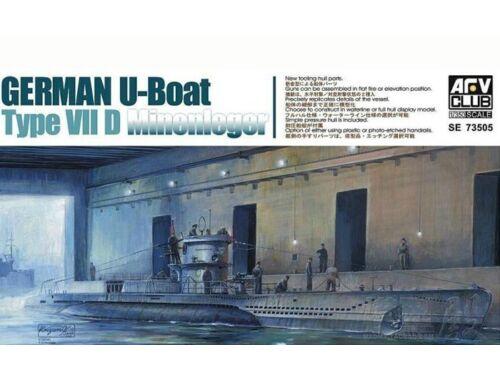 AFV Club U Boat Type 7D 1:350 (SE73505)