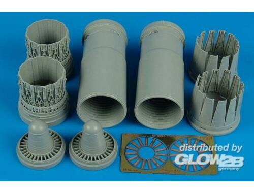 Aires EF 2000A early exhaust nozzles (REV) 1:32 (2125)