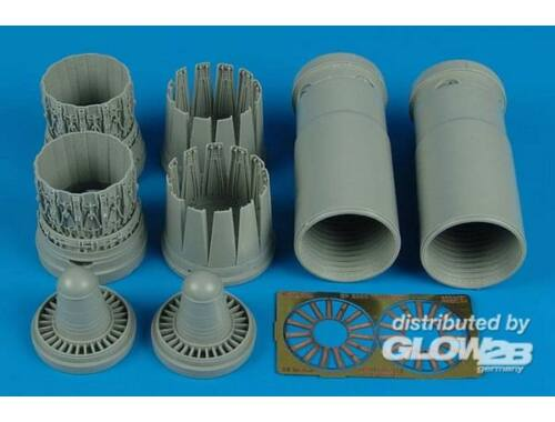 Aires EF 2000A late exhaust nozzles (REV) 1:32 (2126)