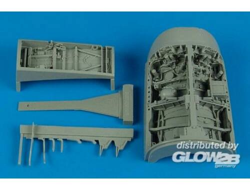 Aires F-16l Sufa wheel bay for Academy 1:32 (2129)