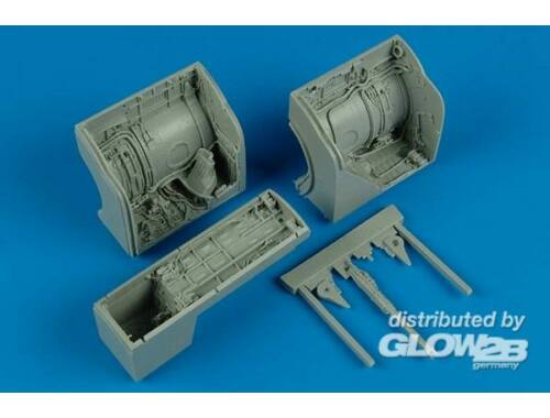 Aires MiG-23 Flogger wheel bay for Trumpeter 1:32 (2133)