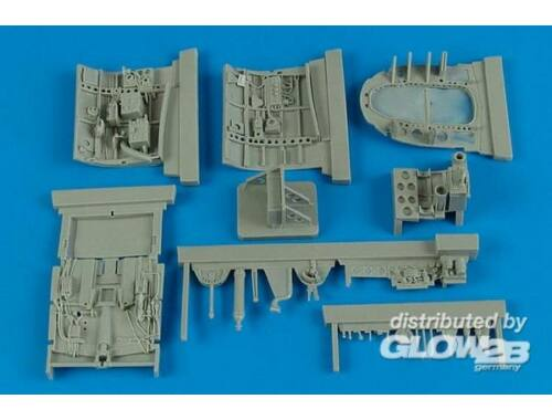 Aires A6M2b Zero cockpit set for Tamiya 1:32 (2159)