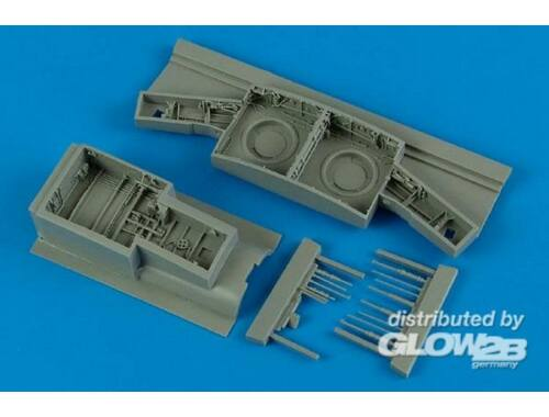 Aires F-86F Sabre wheel bay for Kinetic/Ital. 1:32 (2165)