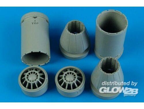 Aires F7A-18E/F exhaust nozzles-closed f. TRU 1:32 (2179)
