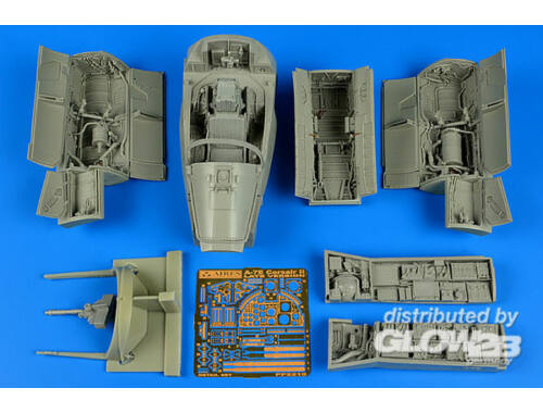 Aires A-7E Corsair II-late detail set for Trum 1:32 (2210)