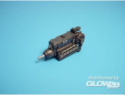 Aires Daimler Benz DB-603 Motor 1:48 (4004)