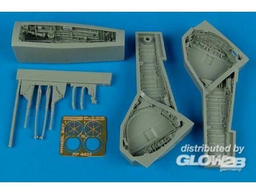 Aires F-105 Thunderchief wheel bay 1:48 (4437)